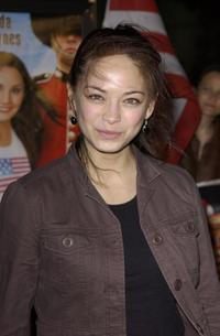 Kristin Kreuk at the premiere of
