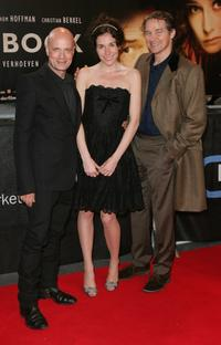 Christian Berkel, Halina Reijn and Thom Hoffman at the German premiere of