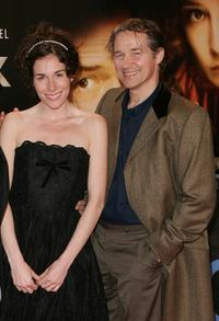 Halina Reijn and Thom Hoffman at the German premiere of