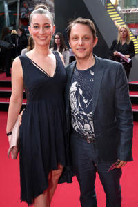 Arndt Schwering-Sohnrey and guest at the Germany premiere of