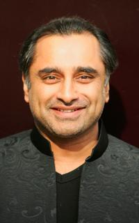 Sanjeev Bhaskar at the opening of Sir Elton John and Amnesty International's Human Rights Action Centre.