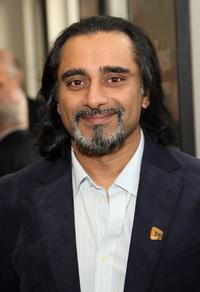 Sanjeev Bhaskar at the Best Of British Comedy Lunch.