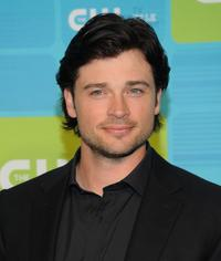 Tom Welling at the 2010 The CW Network UpFront.