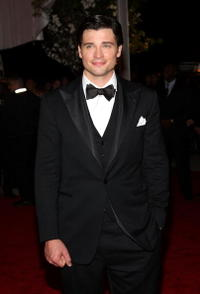 Tom Welling at the Metropolitan Museum of Art Costume Institute Gala.