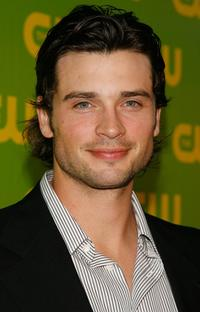 Tom Welling arrives at the CW Launch Party.