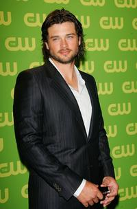 Tom Welling at the CW Television Network Upfront.