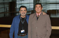 Director Carlos Sorin and Juan Villegas at the photocall of