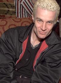 James Marsters at UPN's party for the Television Critics Association.