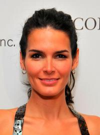 Angie Harmon at the Saks Fifth Avenue's 20th Annual Spring Luncheon.