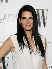 Angie Harmon at the Inaugural Avant-Garde Gala hosted by W Magazine and LACMA.