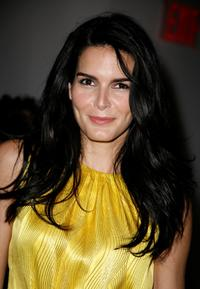 Angie Harmon at the Tory Burch Fall 2008 fashion presentation during the Mercedes-Benz Fashion Week Fall 2008.