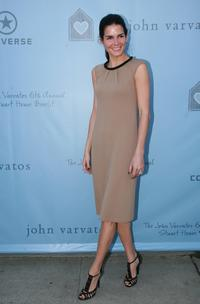 Angie Harmon at the John Varvatos 6th Annual Stuart House Benefit.