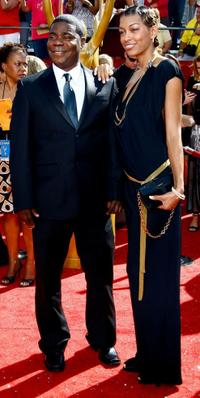 Tracy Morgan and Guest at the 60th Primetime Emmy Awards.