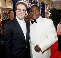 Seth Rogan and Tracy Morgan at the 66th Annual Golden Globe Awards.