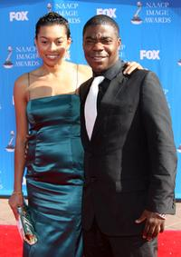 Tracy Morgan and Guest at the 39th NAACP Image Awards.