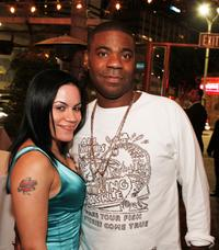 Tracy Morgan and Jules at the afterparty of the premiere of
