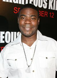 Tracy Morgan at the premiere of