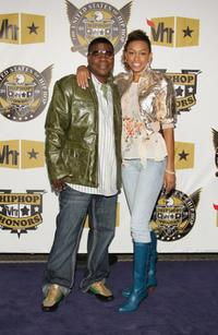 Tracy Morgan and Guest at the 2008 VH1 Hip Hop Honors.