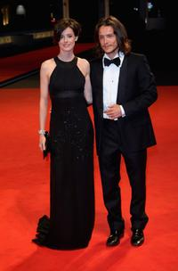 Pilar Lopez de Ayala and Xavier Lafitte at the premiere of
