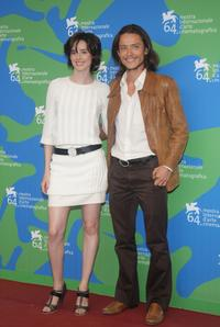 Pilar Lopez de Ayala and Xavier Lafitte at the photocall of