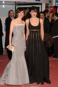 Pilar Lopez de Ayala and Barbara Lennie at the Goya Cinema Awards 2006.