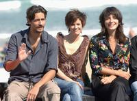 Juan Diego Botto and Pilar Lopez de Ayala and Barbara Lenni at the photocall of