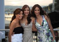 Eva Longoria Parker, Aishwarya Rai and Rachida Brakni at the 61st Cannes International Film Festival.