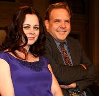 Geraldine Hughes and Brian Howe at the world premiere of