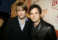 Samuel Ball and Mark Ruffalo at the premiere of