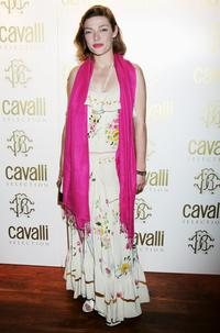 Camilla Rutherford at the Roberto Cavalli Dinner and Wine Launch.
