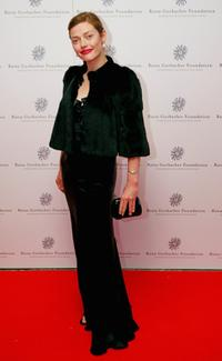 Camilla Rutherford at the Raisa Gorbachev Foundations Second Annual Gala Dinner.