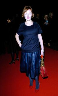Camilla Rutherford at the premiere of