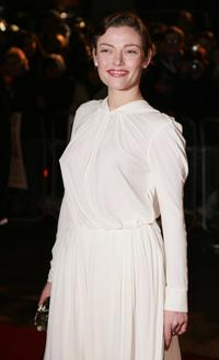 Camilla Rutherford at the European premiere of
