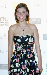 Camilla Rutherford at the 10th anniversary Lavender trust party.