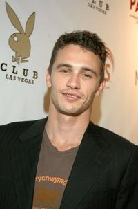 James Franco at the Playboy Club.