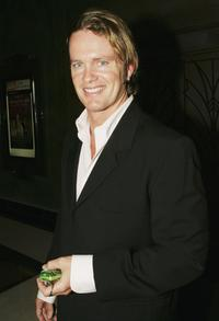 Craig McLachlan at the media launch of