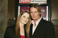 Miranda Otto and Craig McLachlan at the media launch of