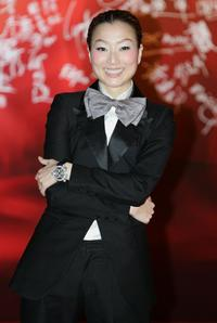 Sammi Cheng at the 27th Hong Kong Film Awards.