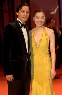 Daniel Wu and Sammi Cheng at the premiere of