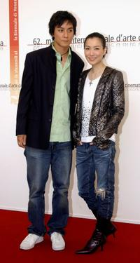 Daniel Wu and Sammi Cheng at the photocall of