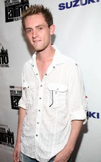 Matt O'Leary at the opening night of New York International Latino Film Festival.