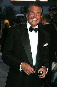 George Hamilton at the opening of Roberto Cavalli's new Rodeo Drive boutique.