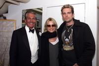 George Hamilton, Nicolette Sheridan and Ashley at the Broadway show