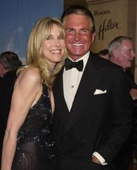 Alana Stewart and George Hamilton at the Carousel of Hope Ball.