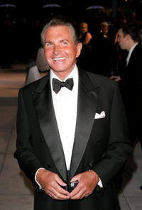 George Hamilton at the Vanity Fair Oscar Party.