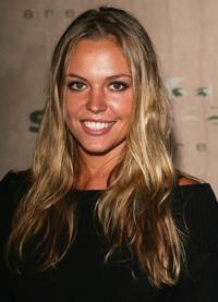Agnes Bruckner at the AREA Nightclub Grand Opening.