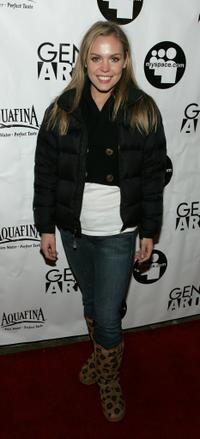 Agnes Bruchner at the 2006 Sundance Film Festival.
