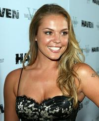 Agnes Bruckner at the premiere of