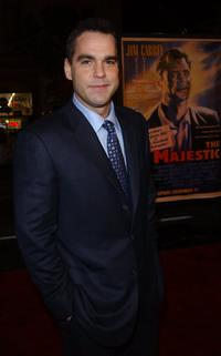 Karl Bury at the premiere of