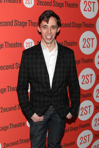 Kevin Cahoon at the Off-Broadway opening night of